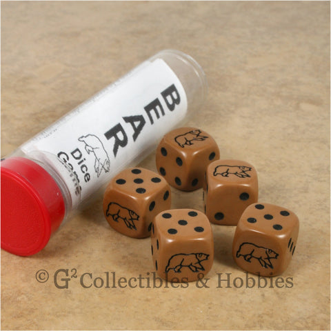 Brown Bear Dice Game