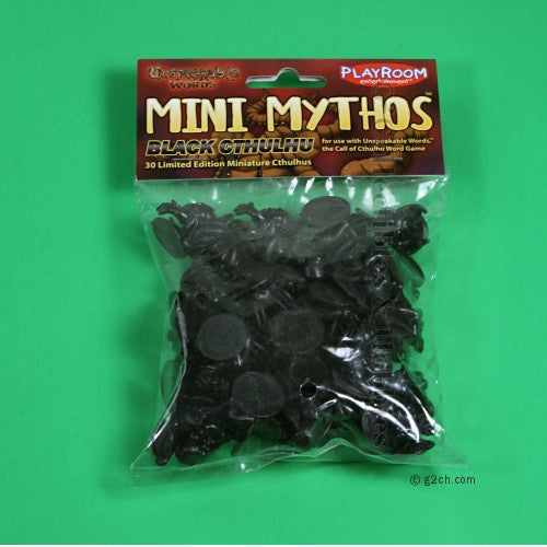 Unspeakable Words Black Mini Mythos
