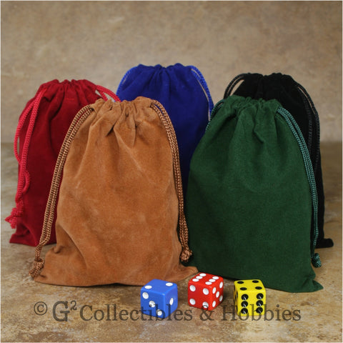 Dice Bag: Medium Velveteen - 5pc Set