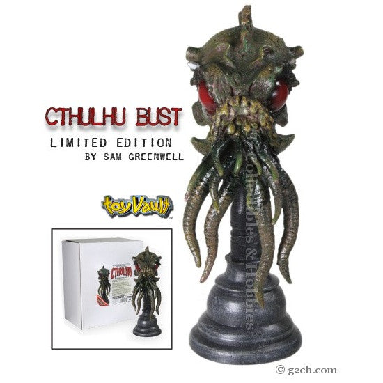 Cthulhu Bust by Sam Greenwell - Limited Edition
