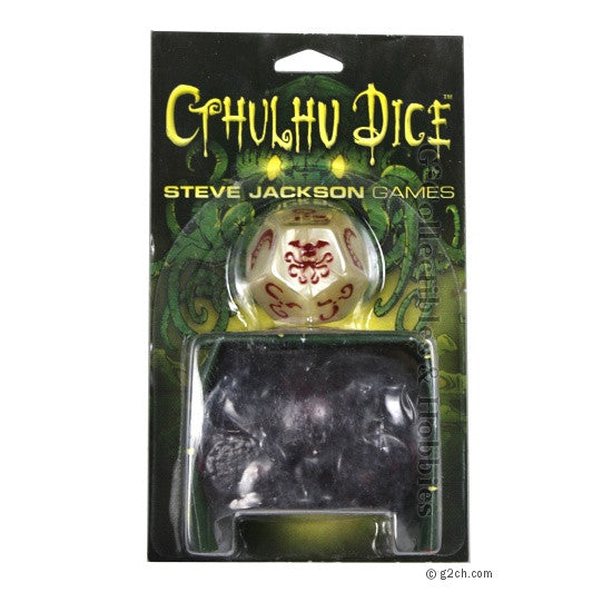 Cthulhu Dice Game - Bone / Red
