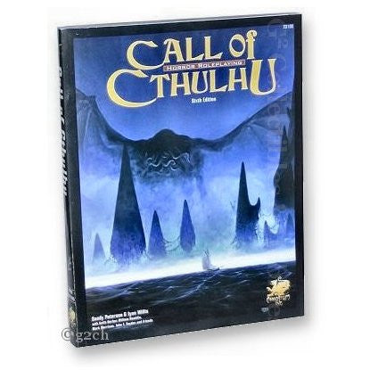 Call of Cthulhu RPG: 6th Edition Soft Cover Core Book