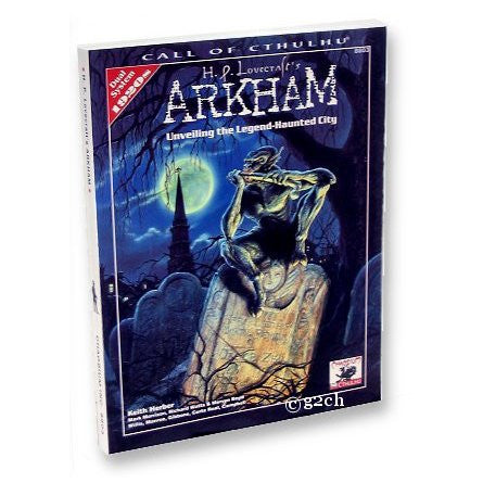 Call of Cthulhu RPG: H.P. Lovecraft's Arkham (1920s)