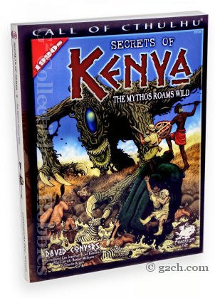 Call of Cthulhu RPG: Secrets of Kenya