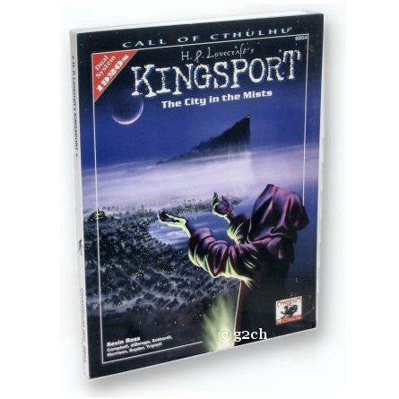 Call of Cthulhu RPG: H.P. Lovecraft's Kingsport (1920s)