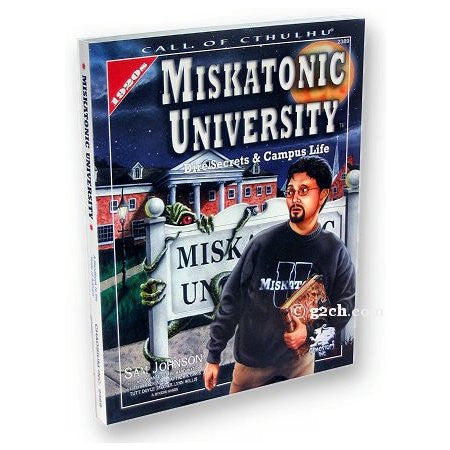 Call of Cthulhu RPG: Miskatonic University (1920s)