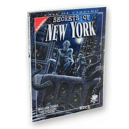 Call of Cthulhu RPG: Secrets of New York (1920s)