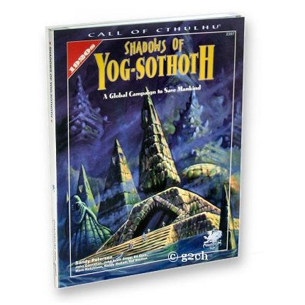 Call of Cthulhu RPG: Shadows of Yog-Sothoth (1920s)