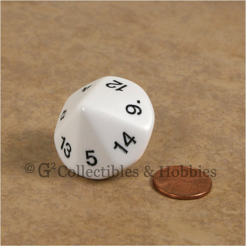 D14 Jumbo 25mm Opaque White