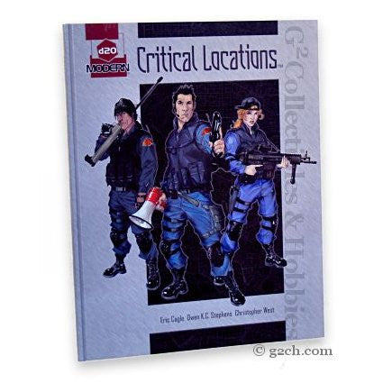 D20 Modern RPG: D20 Critical Locations