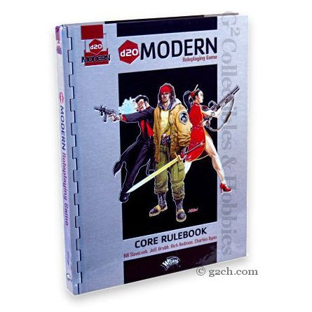 D20 Modern RPG: D20 Core Book