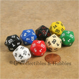 D20 RPG Dice Set 8pc