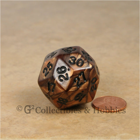 D30 Olympic Pearlized Bronze with Black Numbers