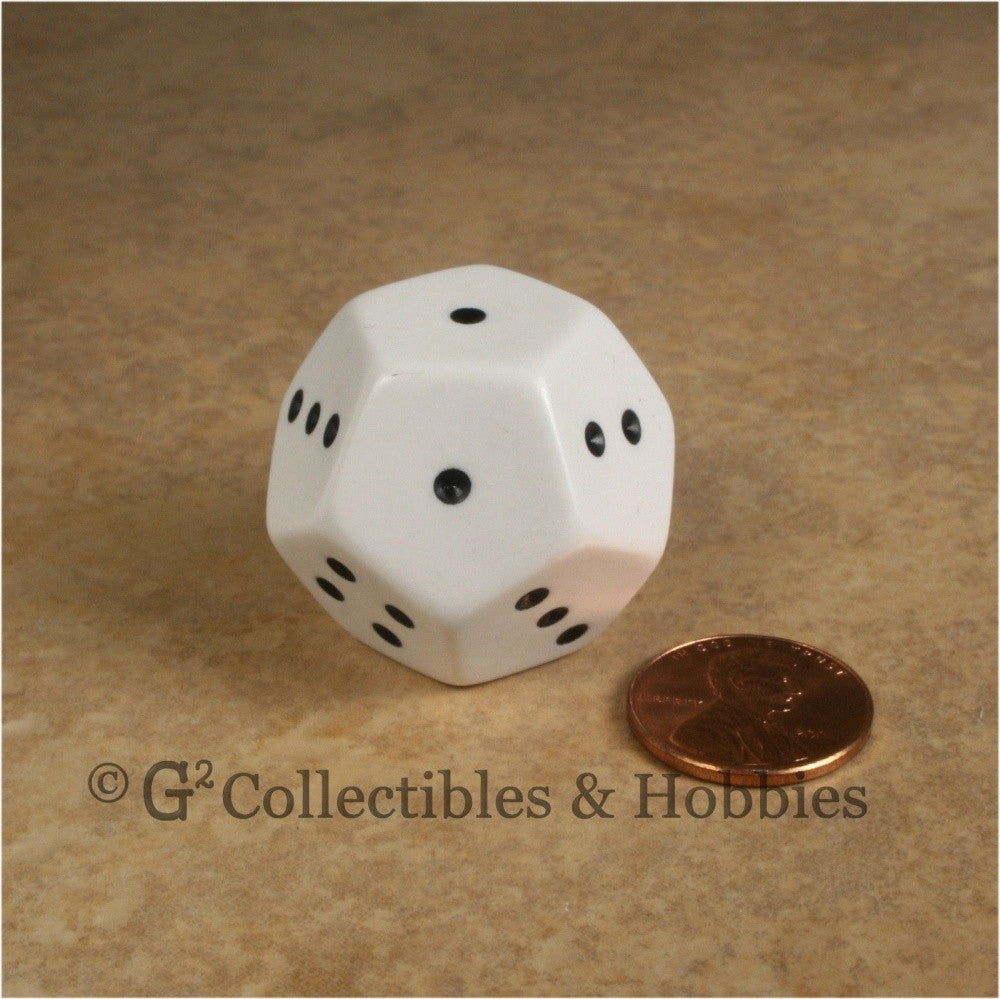 12 Sided Spotted D4 - 1 to 4 Twice