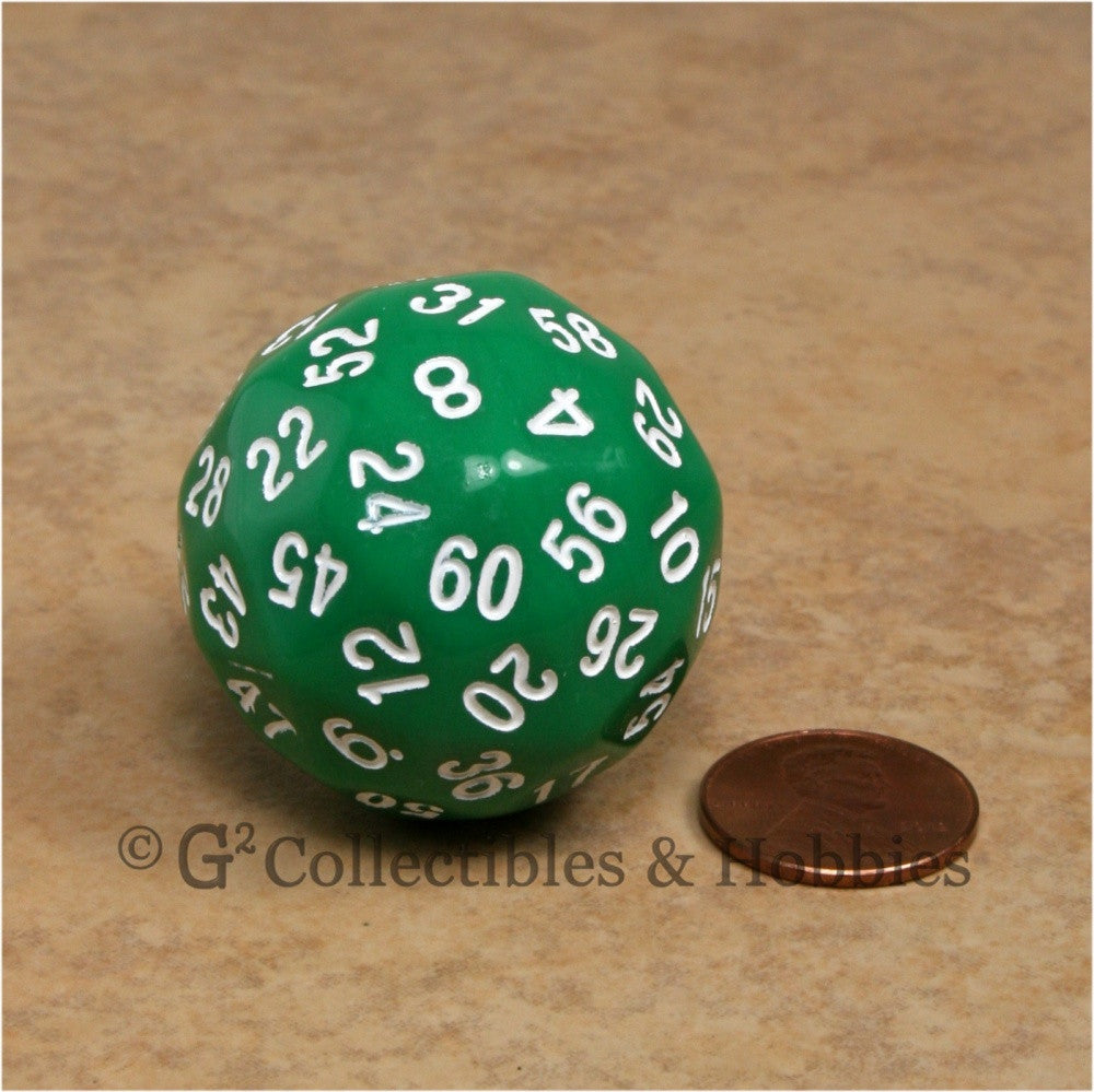 D60 Green Sixty Sided Die