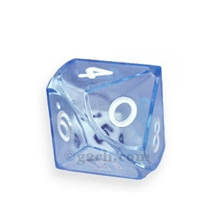 D10 25mm Double Dice - Blue