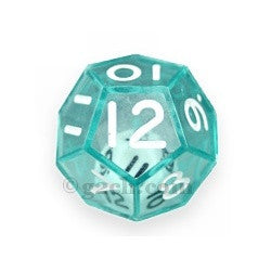 D12 25mm Double Dice - Green