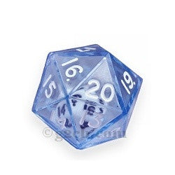 D20 25mm Double Dice - Blue