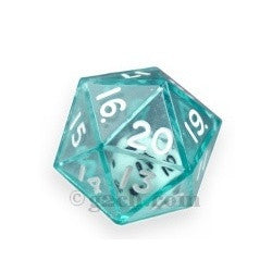 D20 25mm Double Dice - Green