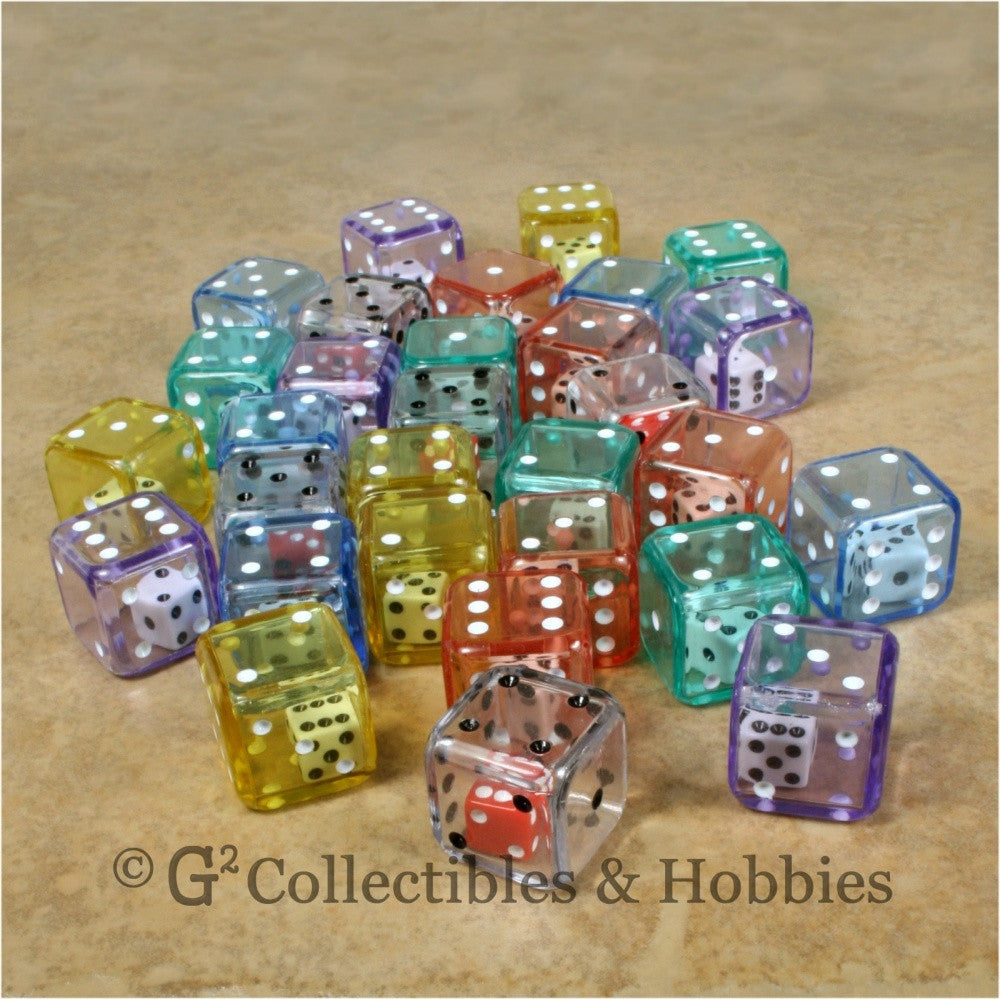 D6 19mm Double Dice 30pc Dice Set