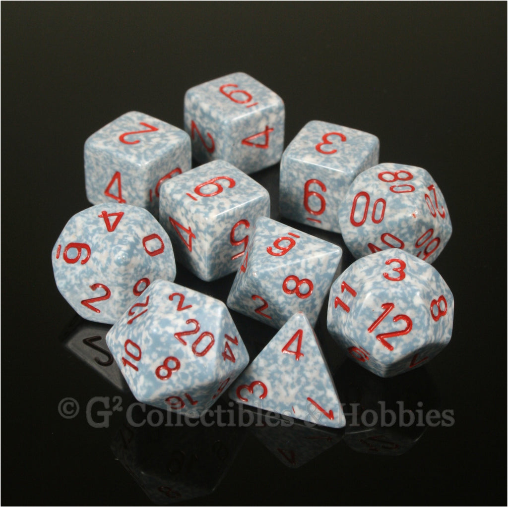 RPG Dice Set Elemental Air 10pc