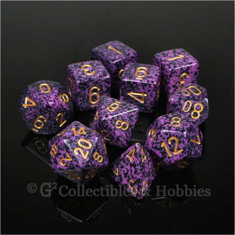 RPG Dice Set Elemental Hurricane 10pc