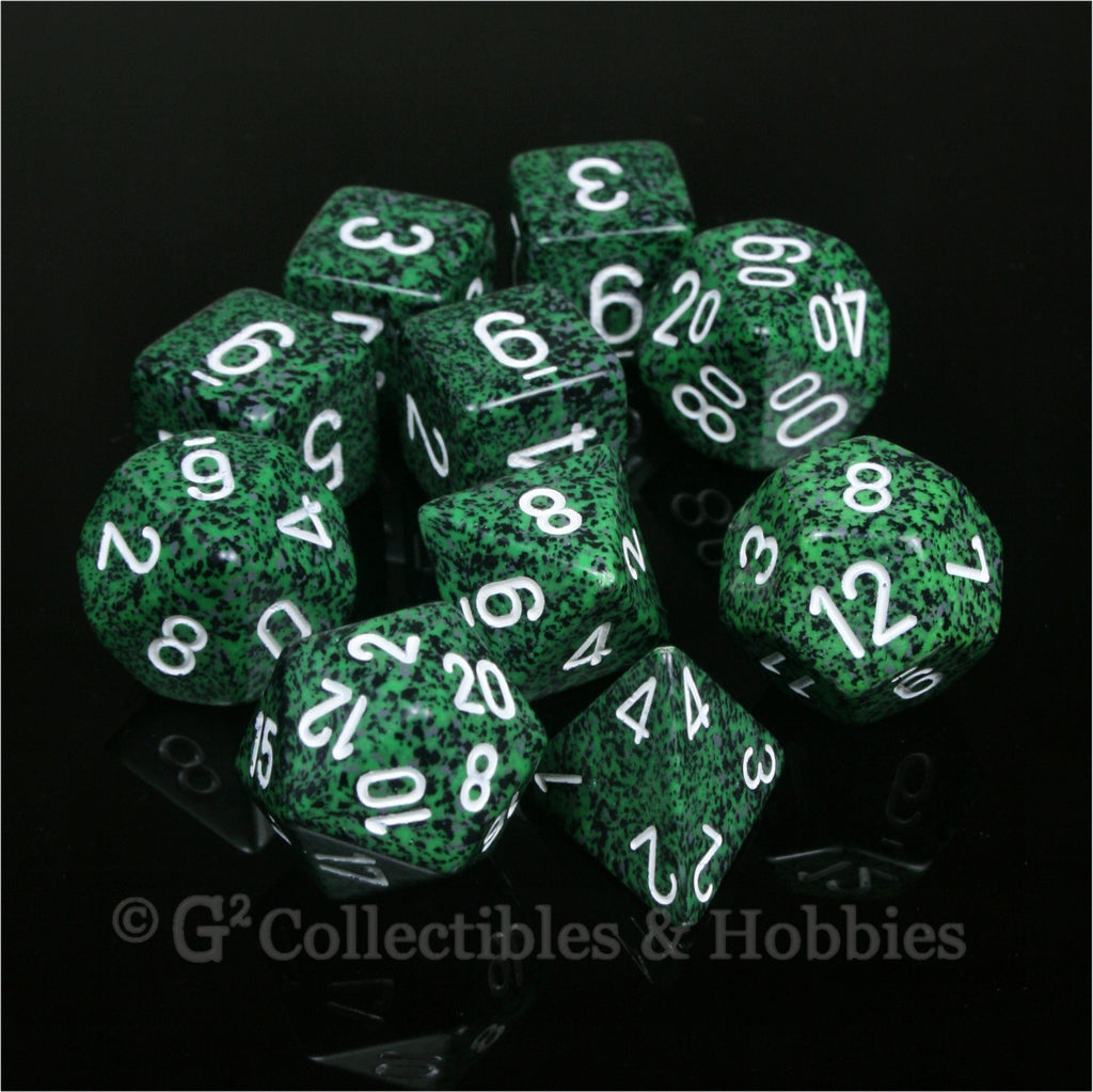 RPG Dice Set Speckled Recon 10pc