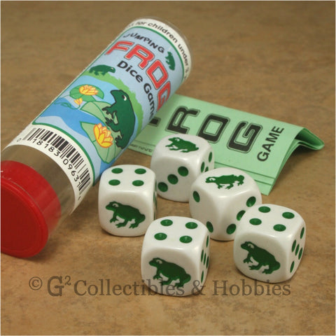Jumping Frog Dice Game
