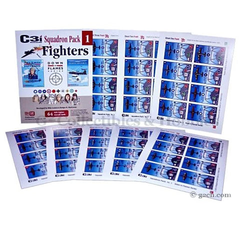 Down in Flames Expansion: C3i DIF Fighter Squadron Pack