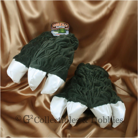 Godzilla Feet Plush Slippers