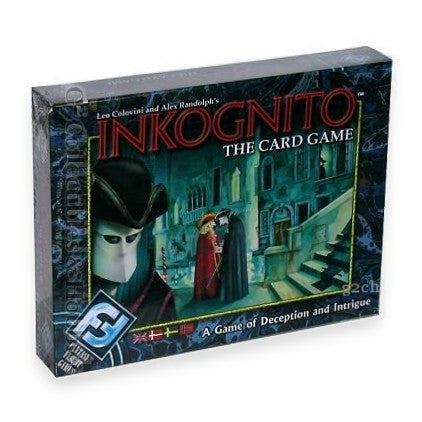 Inkognito: The Card Game of Deception and Intrigue