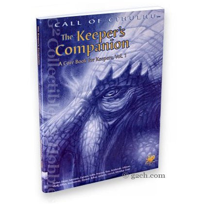 Call of Cthulhu RPG: The Keeper's Companion