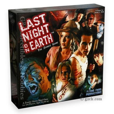 Last Night on Earth Zombie Horror Board Game