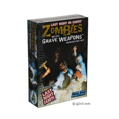 Last Night on Earth: Zombies With Grave Weapons Expansion