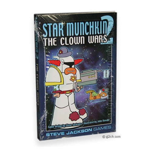 Star Munchkin 2: Send in the Clowns