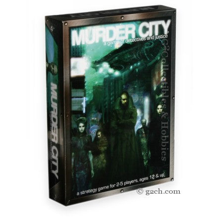 Murder City: A Game of Detectives and Justice
