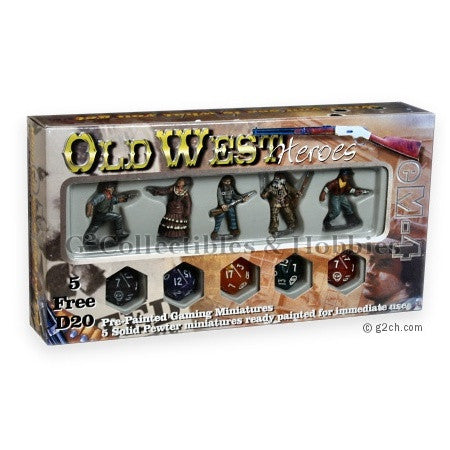 Old West Heroes Set 2 eM4 Miniatures