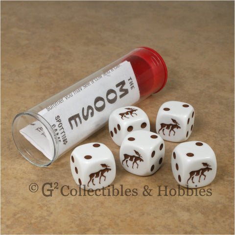 Moose Spotting Dice Game