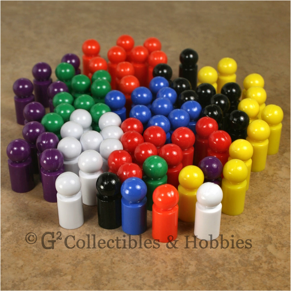 Game Pawns: Ball Set of 80 in eight colors