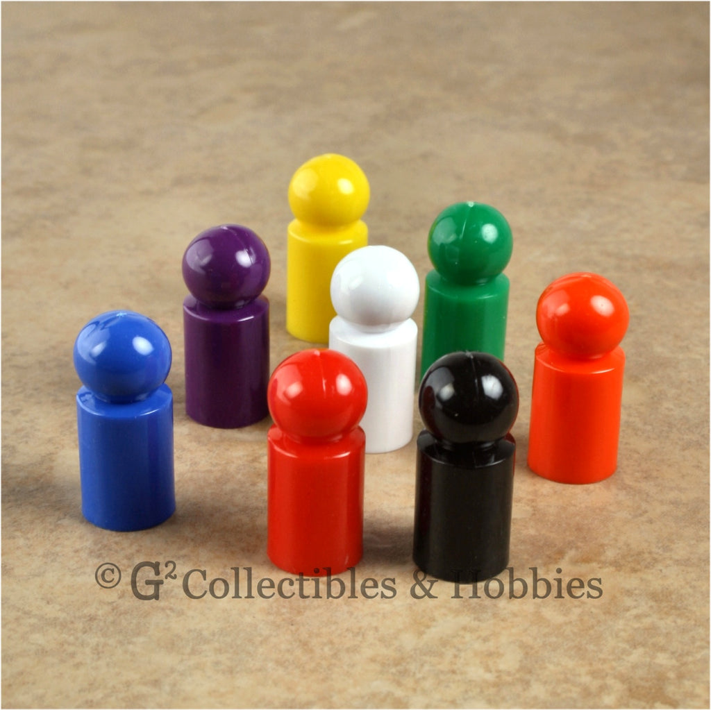 Game Pawns: Ball Set of 8 in eight colors