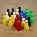 Game Pawns: Halma Set of 24 in six colors
