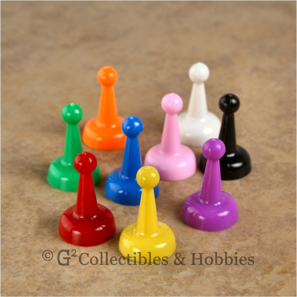 Game Pawns: Standard Set of 9 in nine colors