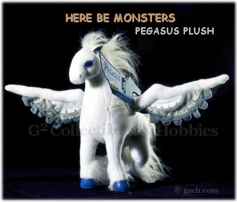 Here Be Monsters: Pegasus Plush Toy