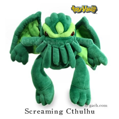 Cthulhu Plush: Medium Cthulhu with Screaming Sound