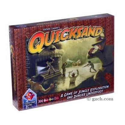 Quicksand: A Game of Jungle Exploration and Danger Underfoot