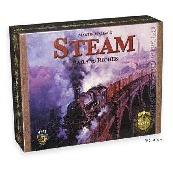 Steam Rails to Riches