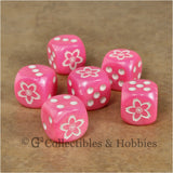 Sakura Cherry Blossom Dice - Set of 6