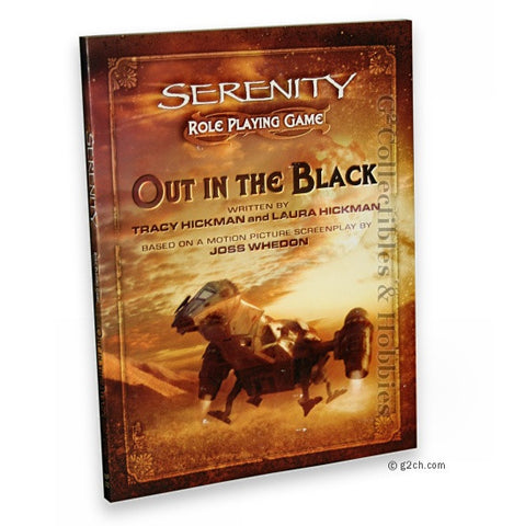 Serenity Role Playing Game: Out in the Black