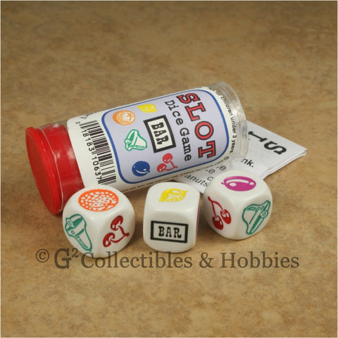 Slot Dice Game - 3 Dice in Tube