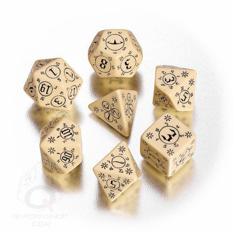 RPG Dice Set Pathfinder Rise of the Runelords 7pc